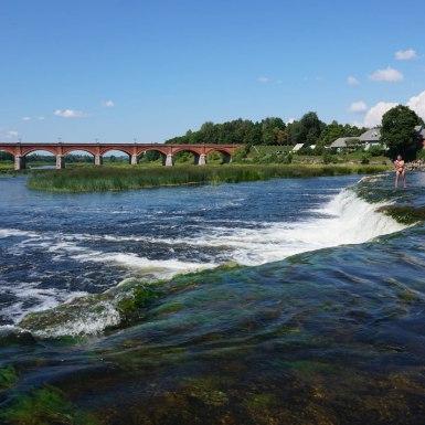 Kuldīgas ķieģeļu tilts, Lettország
