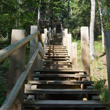 Lépcsők, Sigulda, Lettország