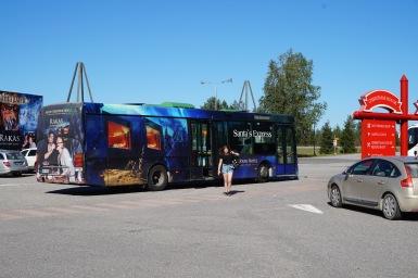 Santa express járat, Rovaniemi