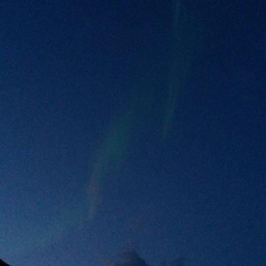 00:22, Sarki fény, Ballesvika, Norvégia