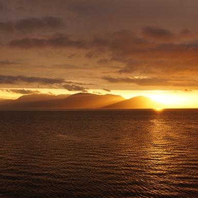 Alta fjord, Norvégia