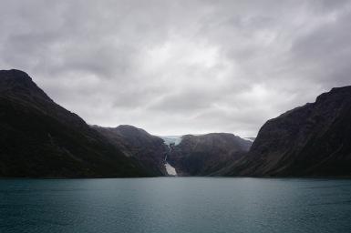 Oksfjordjøkelen, Norvégia
