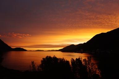 Øksfjord, Norvégia