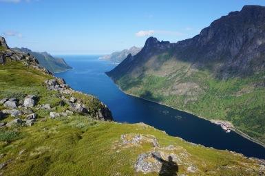 Øyfjordnen, Senja, Norvégia