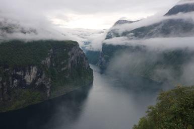 Geiranger fjord, Norvégia