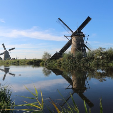 Kinderdijk, Hollandia