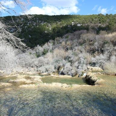 Krka vízesés