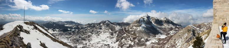 Panorama Lovcen