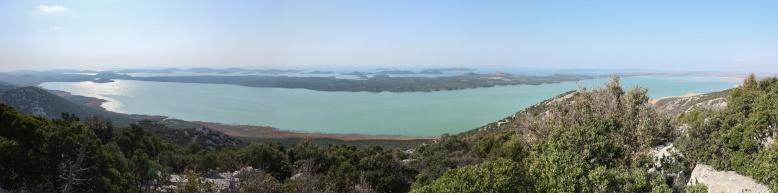 Panorama Vransko jezero