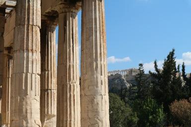 Hephaestus temploma és az Akropolisz