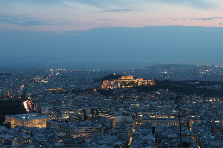 Athén kivilágítva
