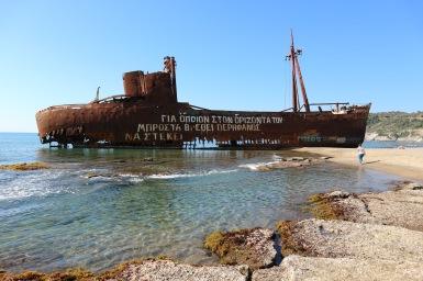 Dinitrios hajóroncs