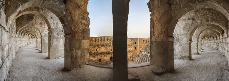 Panorama_Aspendos theatre1