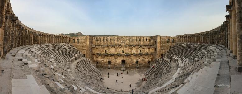 Panorama_Aspendos theatre3
