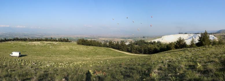 Panorama_Pamukkale hot air balloon