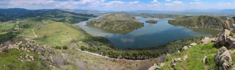 Panorama_Pergamon lake
